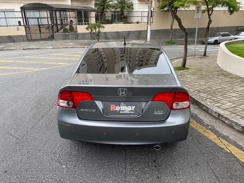 honda civic lxs 1.8 aut  flex  2008  top de linha