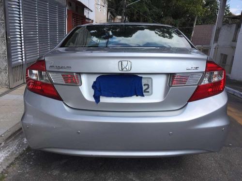 honda civic lxs  1.8 flex  automático 4p   2013  lindo carro