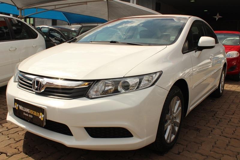 Honda Civic Lxs 2013. Carregando Zoom.