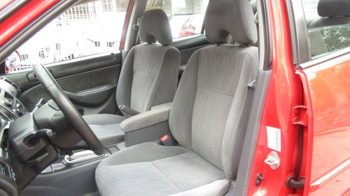 honda civic rojo 2004