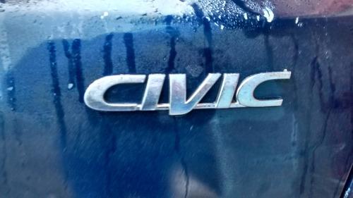 honda civic sedan ex 1.6 16v sucata para retirada de peças
