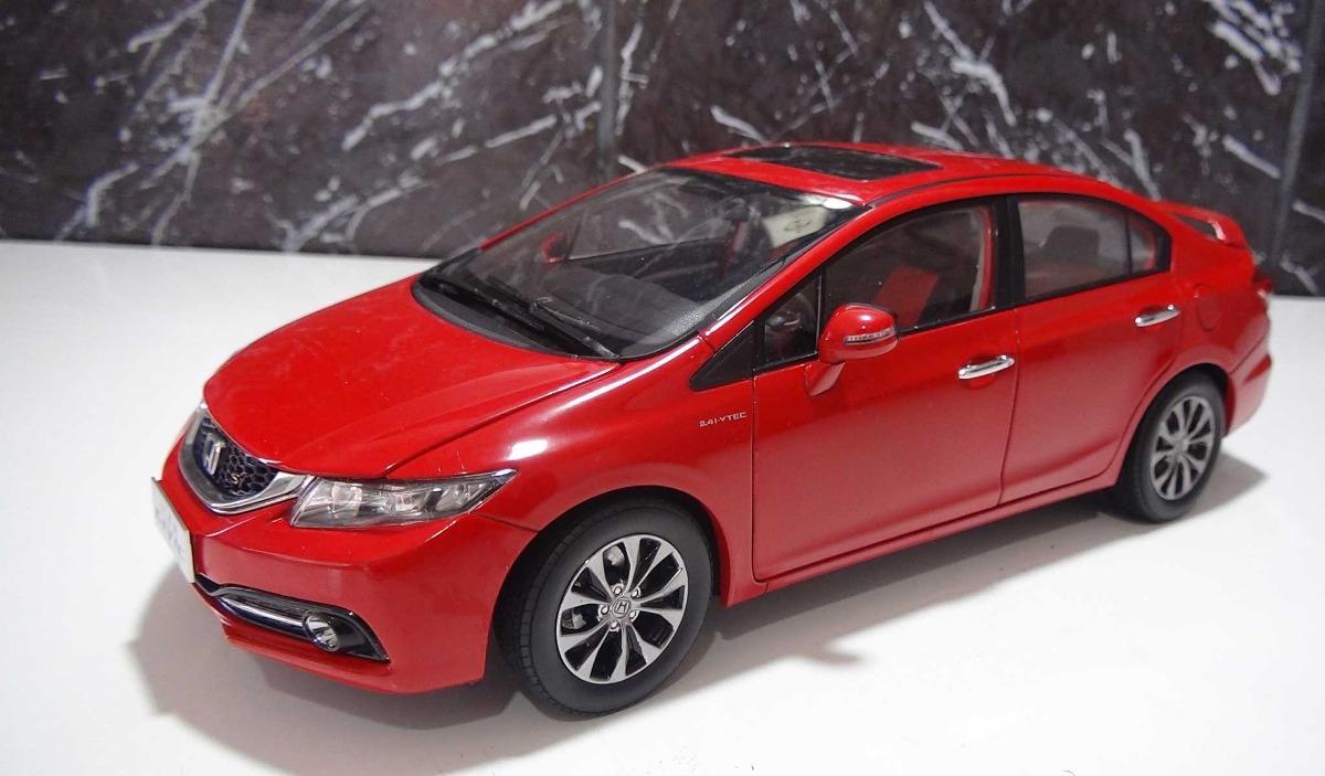 Captivating Honda Civic Si Sport Ano 2014 Vermelho Escala 1:18. Carregando Zoom.
