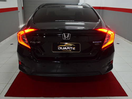 honda civic touring 2017 1.5 turbo - impecável - 2017