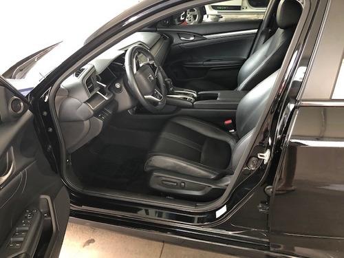 honda civic touring turbo g10 modelo2017 - impecável
