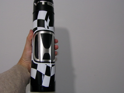 honda civic v-tec termo personalizado aluminio esmaltado 1l