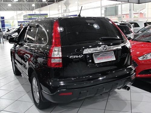 honda cr-v 2.0 exl 4x4 aut. 2008 completo top de linha