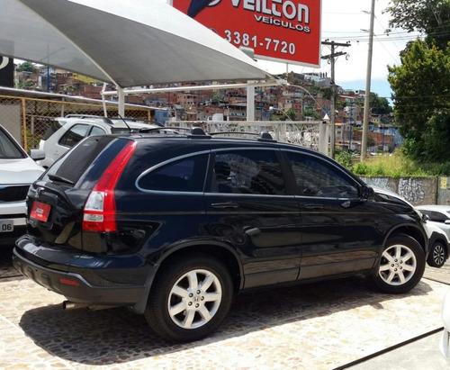 honda cr-v 2.0 lx 4x2 aut. 5p 2008 couro