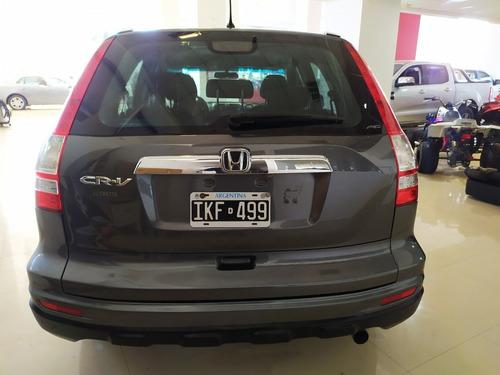 honda cr-v automatica exl 2.4 nafta 4x4 año 2010 color gris