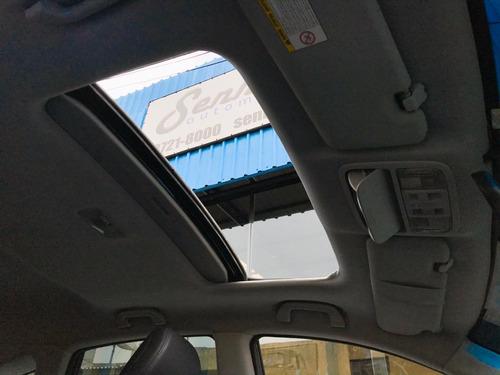 honda cr-v exl 2.0 automática + teto solar preta - 2011
