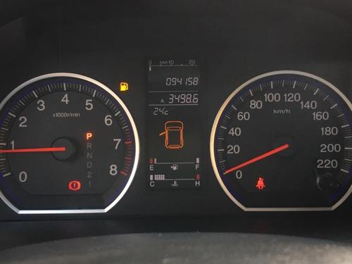 honda cr-v lx 2.0 automática preta - 2008
