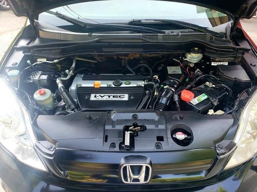 honda cr-v lx 2008 automática 4x4 cuero impecable