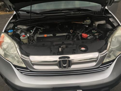 honda cr-v motor 2.4 2009 plateada