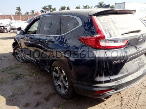 honda cr-v turbo plus 2017 chocado para reparar...