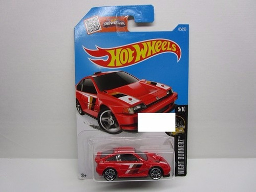 honda cr-x 85/250 coleccion  hot wheels b108