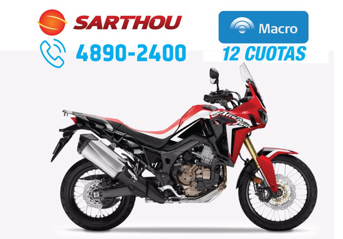 honda crf 1000 africa twin 2017 0km at dct automatica