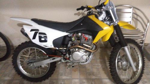 honda crf 230 20018/19 único dono moto perfeita+ peças origi