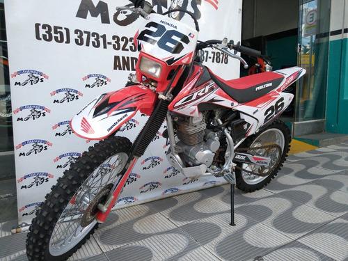 honda crf 230 f 2013 vermelha novíssima!!!