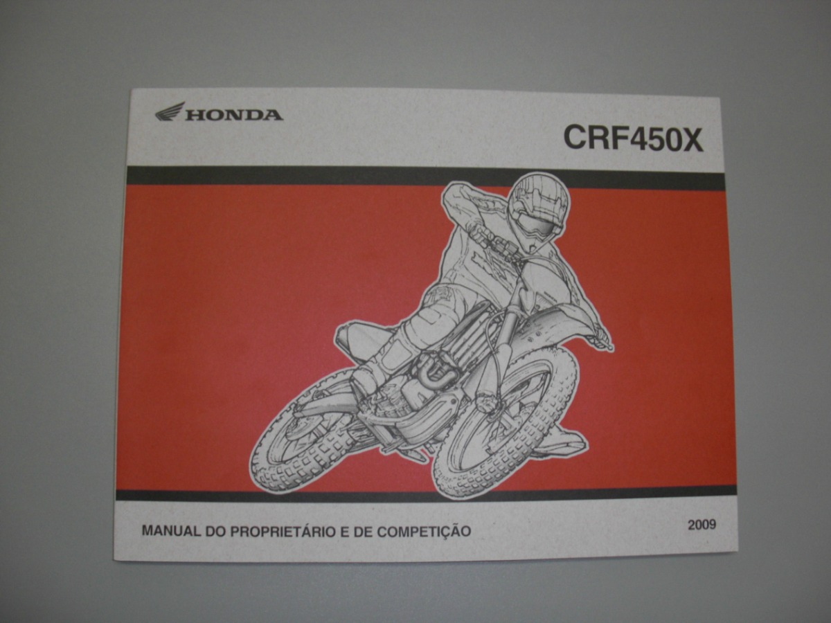 honda crf 250 450r x manual propeiet rio original novo r 229 00 rh produto mercadolivre com br  crf250r owner's manual pdf