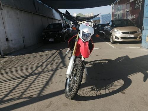 honda crf 250 l 2017 mt blanco