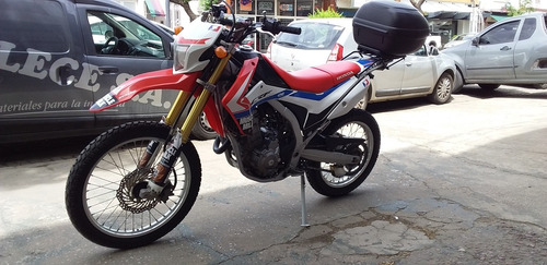 honda crf 250l enduro/calle/ruta permuto moto, auto o cuatri