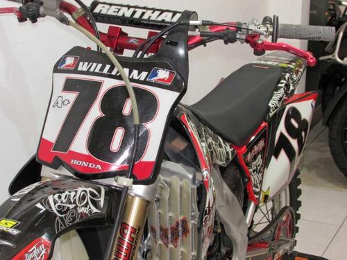 honda crf 250r  2009 vermelha