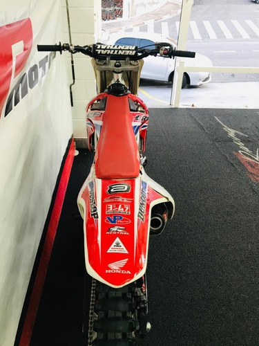 honda crf 450 2009 vermelha