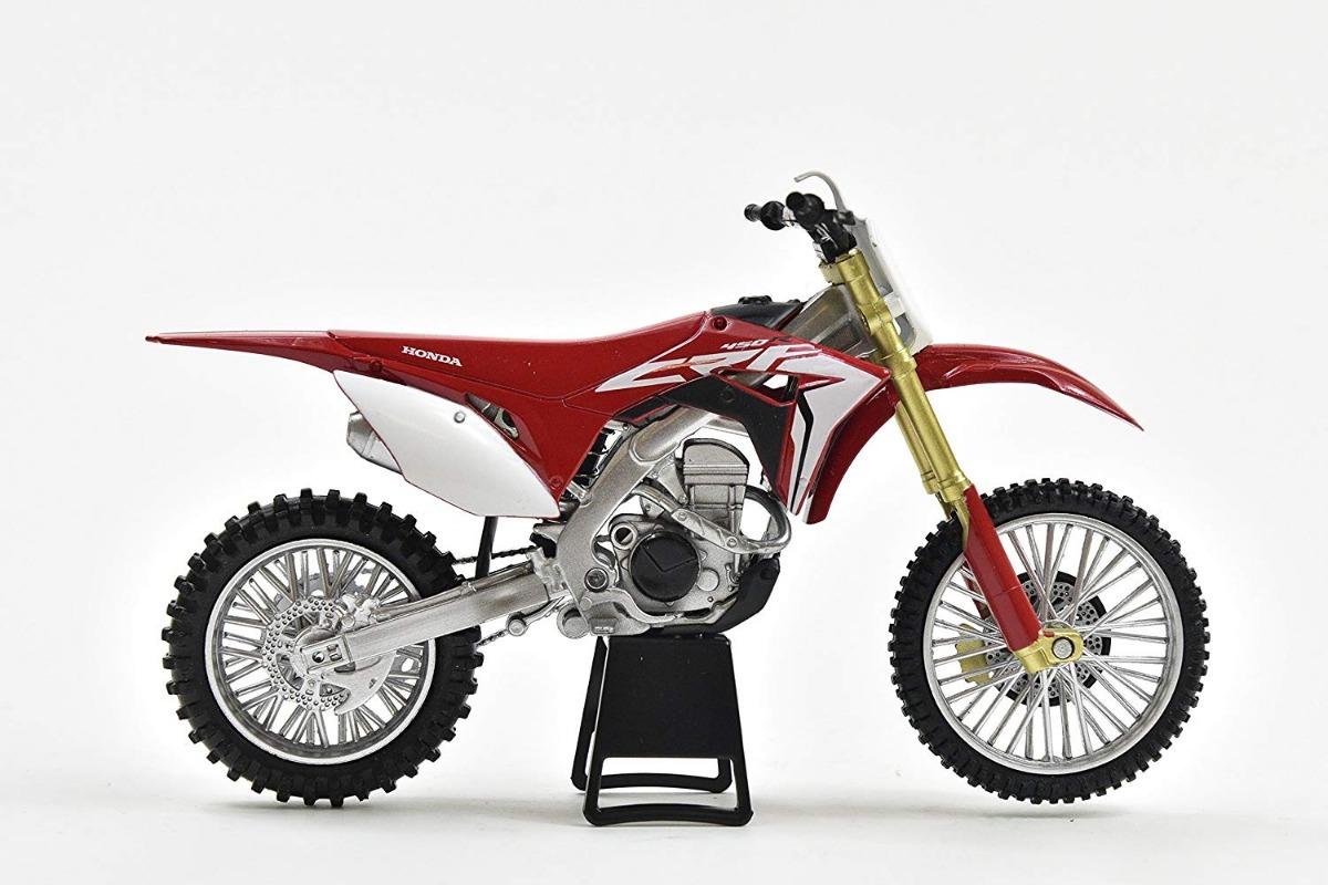 New Ray 1:12 Honda Crf 450 R 2019 Diecast Modelo Juguete Motocross Rojo