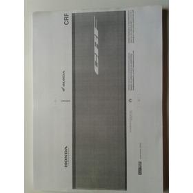 Honda Crf 450 X + Manual  Taller Envio X Mail