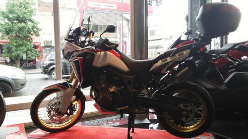 honda crf africa twin 1000 cc permuta tricolor centro motos