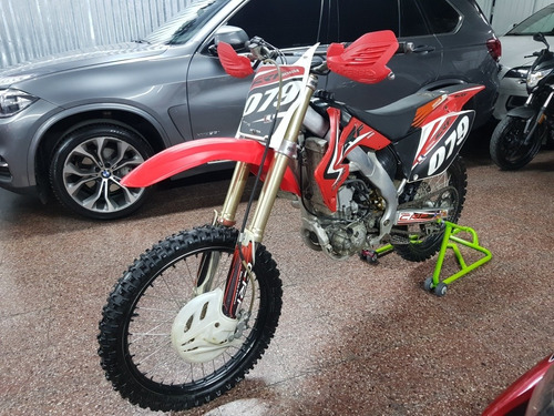 honda crf250r 2008 -  impecable  -  financiacion - ahora12