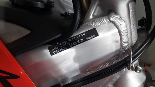 honda crf450r 0km - 2017 - japón