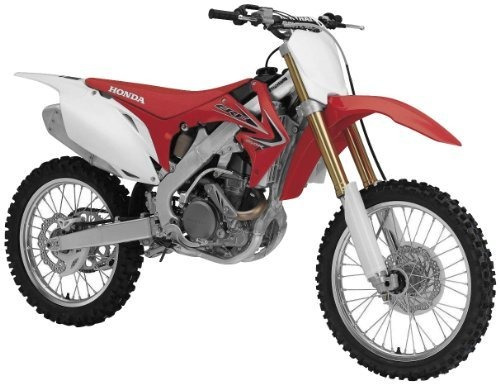 honda crf450r  escala de fundición a presión de la motocicl