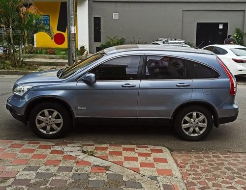 honda crv-ex 2007 azul plata metálico