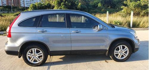 honda crv-lx 2011 4x4 azul plata metálico  (único dueño)