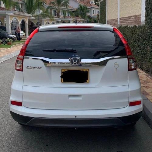 honda crv motor2.4 2015 blanca 5 puertas unico dueño