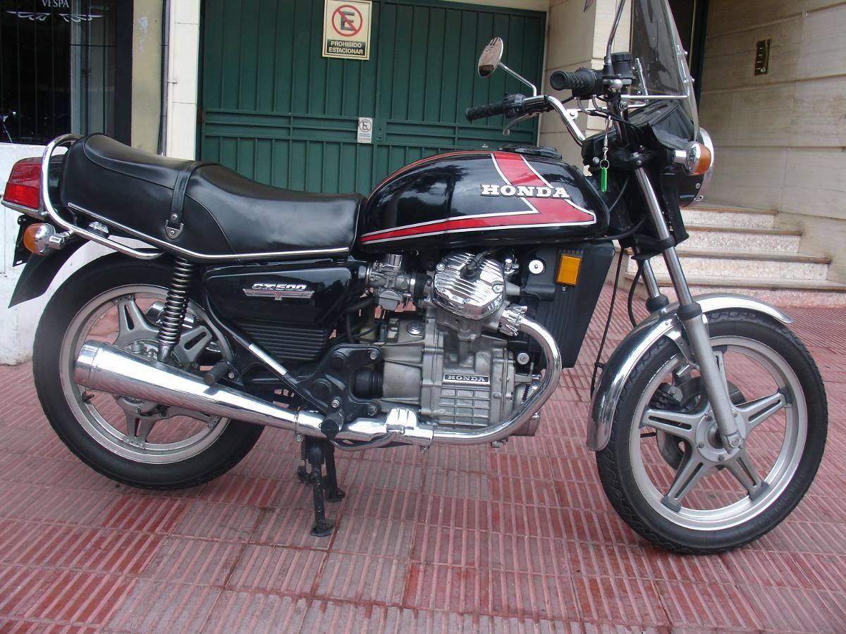 Honda Cx 500 Año 1978 Impecable Toda Original - U 9.000