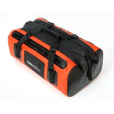 honda dryspec maleta trasera impermeable naranja