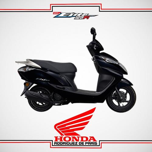 honda elite 125 0 km negra 2017