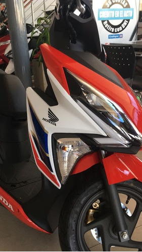 honda elite 125 0km 2018 scooter tricolor negra moto sur
