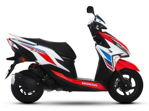 honda elite 125 0km 2020 scooter tricolor negra moto sur