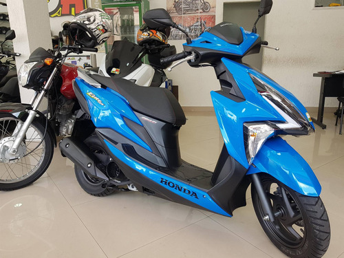 honda elite 125 2019 azul 0km documentada