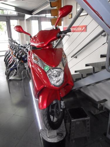 honda elite 125 ant $9000 y 18 c de $2534 centro motos