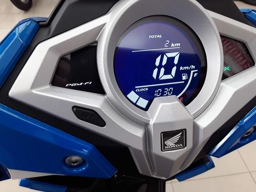 honda elite 125, automatico, freios cbs, painel digital, 0km
