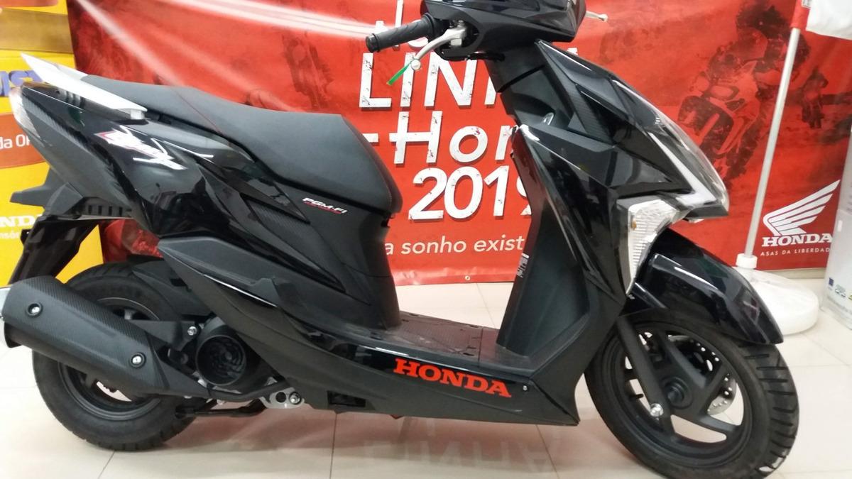 Honda Elite 125 Novo Scooter Honda Automatica Freios Cbs R