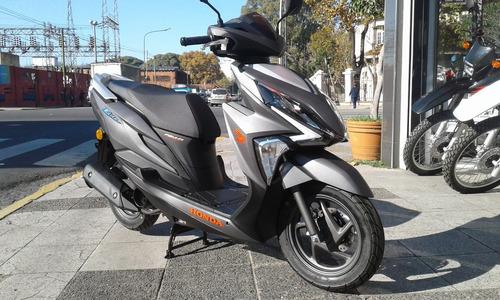 honda elite 125 scooter motos.