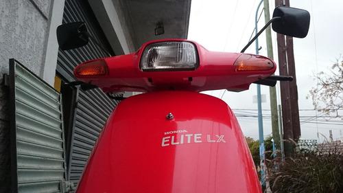 honda elite lx 100% japón única