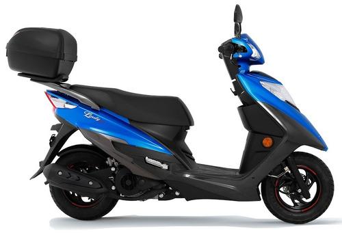 honda elite - promoção scooter suzuki lindy 125cc 0km 18/19