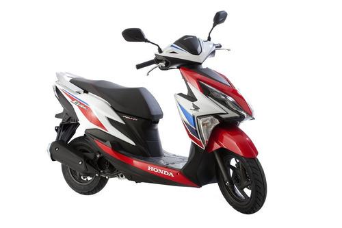 honda elite tricolor   125 fi el nuevo scooter