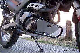 honda falcon nx4 defensa mataperro con cubre cárter aluminio