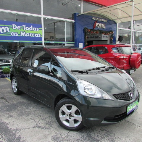 honda fit 1.4 lx flex 5p 2010 verde